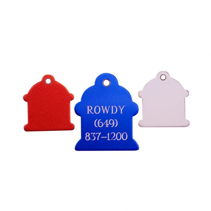 Engraved Hydrant Pet Tag