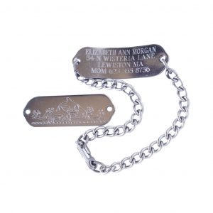 Engraved ID Bracelet for Kids