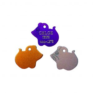 Engraved Mouse Pet Tag